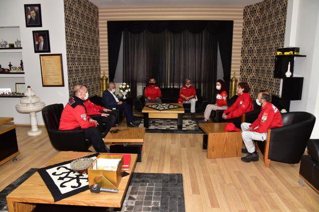 AKUT Genel Başkanı Şalcı, Afyonkarahisar'da temaslarda bulundu