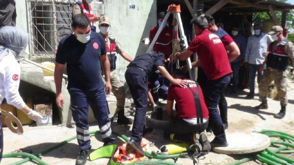 Su kuyusuna giren baba ve 2 oğlu öldü, itfaiye eri tedaviye alındı