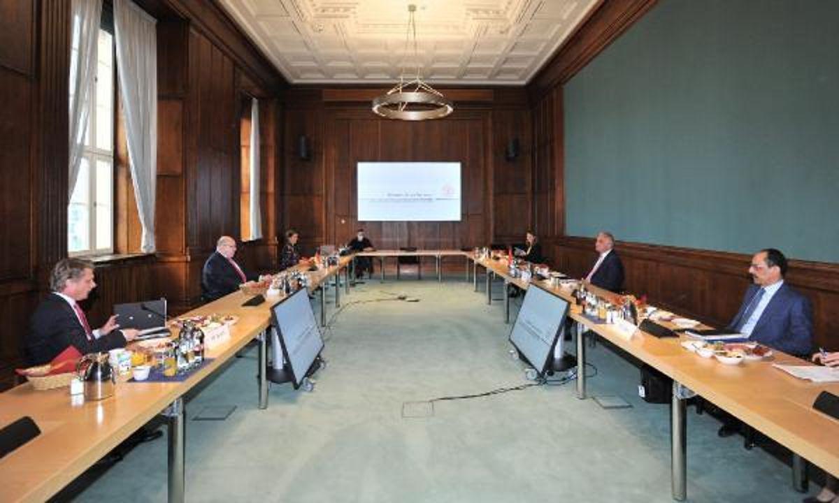 Son dakika haberi... Bakan Ersoy ve Cumhurbaşkanlığı Sözcüsü Kalın Almanya'da