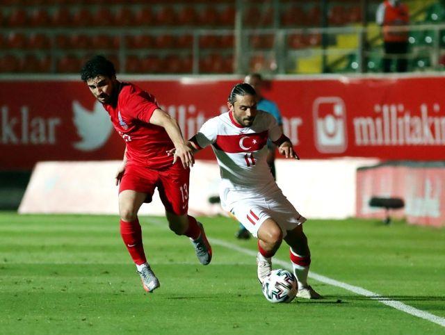 Hazırlık maçı: Türkiye: 2 - Azerbaycan: 1 (Maç sonucu)