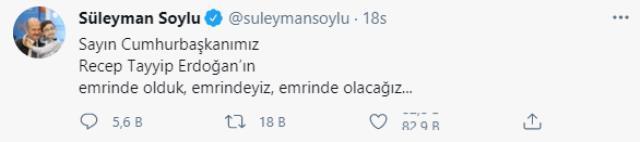 İçişleri Bakanı Süleyman Soylu'ya silahlı fotoğrafıyla destek veren şahsın paylaşımı sosyal medyada gündem oldu