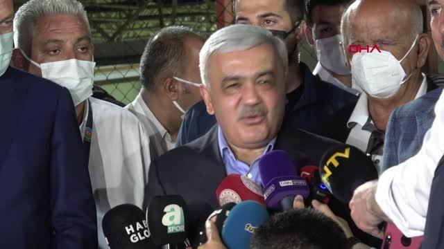 SPOR Azerbaycan Futbol Federasyonu Başkanı Abdullayev: Türkiye'nin zaferlerini seyredeceğiz