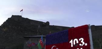 Ezan: Azerbaycan Cumhuriyeti'nin 103. kuruluş yıldönümü kutlandı