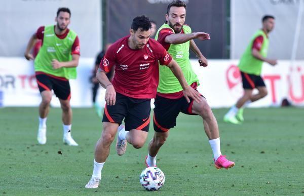 SPOR A Milli Futbol Takımı hazırlıklarını sürdürdü
