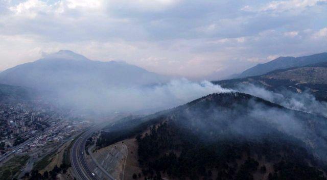 Pozantı'daki orman yangını kontrol altına alındı