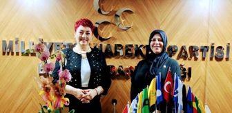 Milliyetçi Hareket Partisi: MHP Bursa Kadın Kolları Başkanı Duzcu: 'Türk kadını, Türk milliyetçisidir'