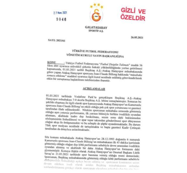 Süper Lig'i karıştıran şike mektubu ortaya çıktı! Beşiktaş'ın 'ahlaksız' dediği gazeteci belge paylaştı