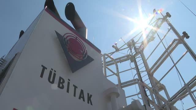 TÜBİTAK MAM Gemisi için Alsancak Limanı'nda uğurlama töreni (2)