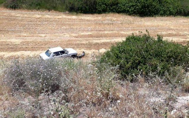 Adıyaman'da otomobil uçuruma yuvarlandı: 2 yaralı