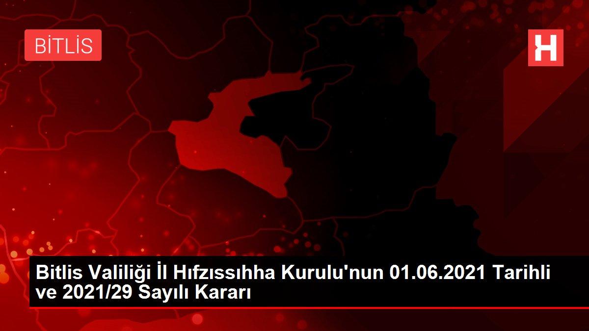 Antalya İl Umumi Hıfzıssıhha Kurulunun 01/06/2021 Tarih ve 2021/37 Sayılı Kararı