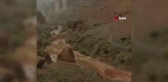 Almatı: Kazakistan'daki kanyon turuna çıkan öğrenciler sele yakalandı: 2 ölü