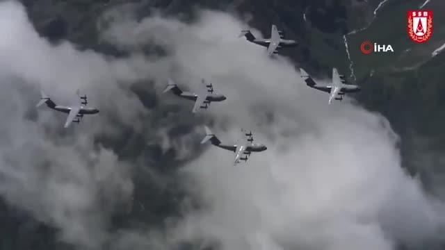 Savunma Sanayii Başkanlığı'ndan Türk Hava Kuvvetleri'nin 110'uncu kuruluş yıldönümü için özel klip