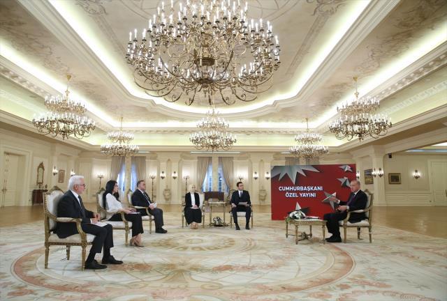 Cumhurbaşkanı Erdoğan, canlı yayında 'artık bıktık' diyerek Biden'a isyan etti