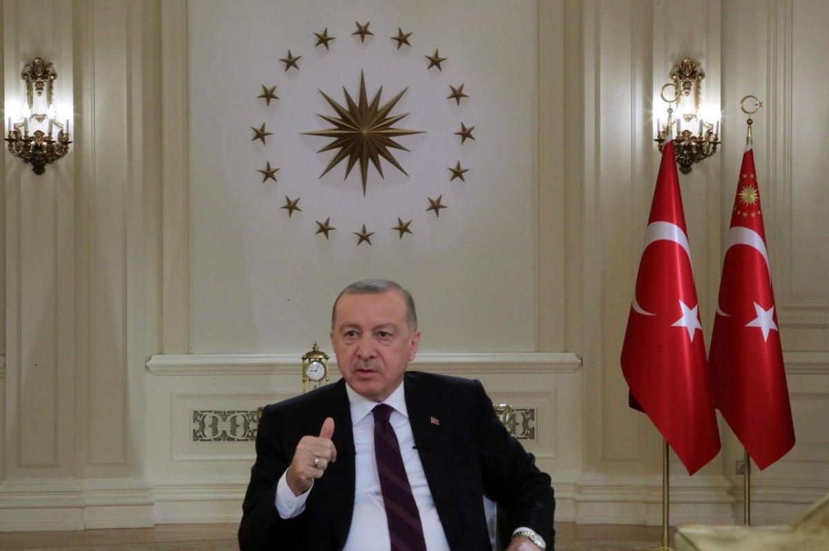 Son dakika haber! Cumhurbaşkanı Erdoğan'ın TRT Yayınında dikkat çeken detay