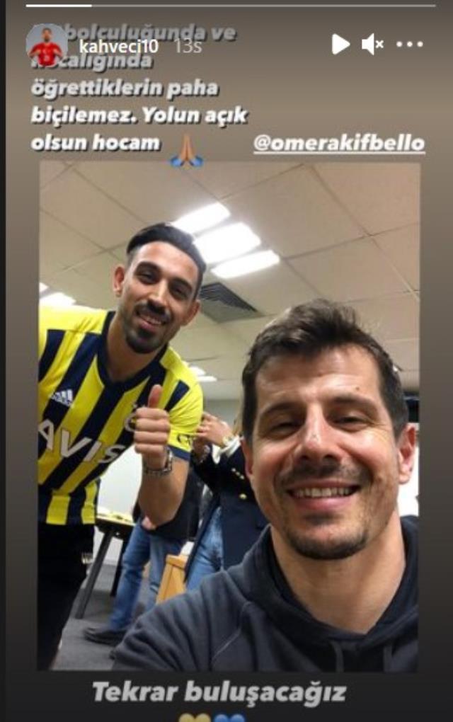Caner Erkin ve İrfan Can'ın Emre Belözoğlu için yaptığı paylaşım dikkat çekti