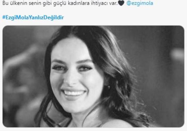 Ezgi Mola'ya destek veren ünlüler hakkında suç duyurusunda bulunuldu! Sosyal medya yeniden ayağa kalktı