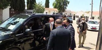 Mehmet Muş: KKTC Cumhurbaşkanı Tatar, Ticaret Bakanı Muş'u kabul etti