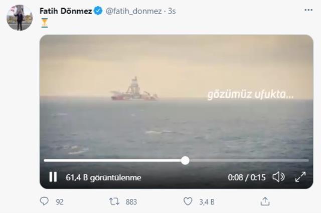 Cumhurbaşkanı Erdoğan'ın açıklayacağı müjdeye saatler kala Bakan Dönmez'den heyecanlandıran paylaşım: Gözümüz ufukta