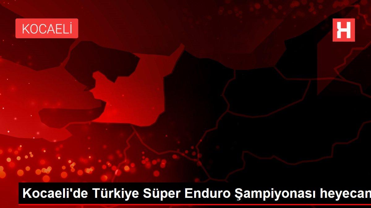 Kocaeli'de Türkiye Süper Enduro Şampiyonası heyecanı