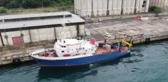 Odtü Bilim-2 Araştırma Gemisi: ODTÜ araştırma gemisi Bilim-2, müsilaj için Marmara Denizi'nde