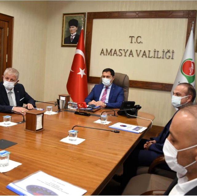 Organize Sanayii Bölgesi Müteşebbis Heyet Toplantısı Yapıldı