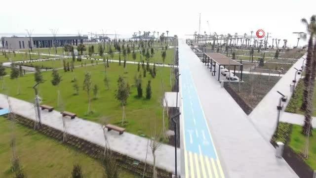 Cumhurbaşkanı Erdoğan, Türkiye'nin en büyüklerinden Mersin Millet Bahçesini video konferansla açtı