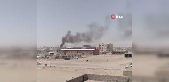 İran: Husilerden akaryakıt istasyonuna balistik füzeli saldırı: 14 ölü