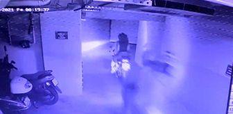 Çağlayan Polis Merkezi: Kağıthane'de 2'si kız 4 motosiklet hırsızı kamerada