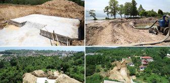 Kocaeli Büyükşehir Belediyesi: Eşme'de Depo İnşaatı ve Dere Islahları Devam Ediyor