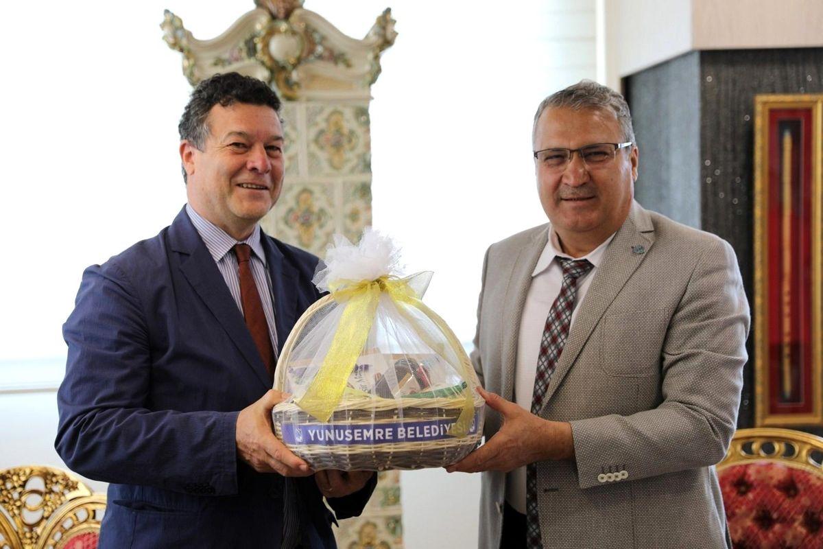 Başkan Çerçi BM Mülteciler Yüksek Komiserliği Türkiye Temsilcisini ağırladı