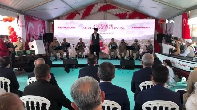 İstiklale giden yolda 'Atatürk ve İstiklal Yolu Yürüyüşü' başladı