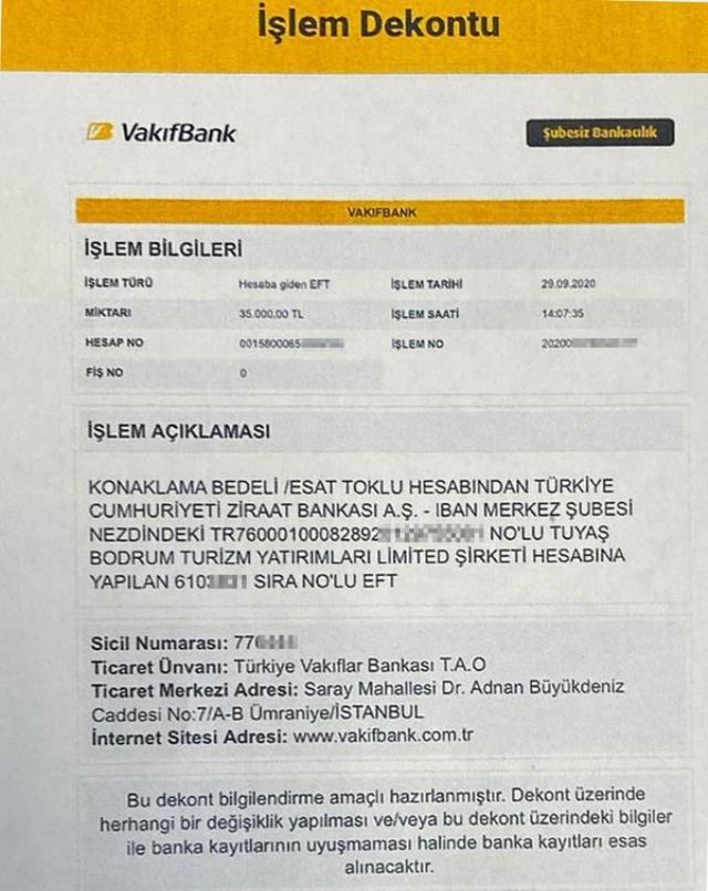 Mahkeme başkanı Esat Toklu'dan Sedat Peker hakkında suç duyurusu! Ödeme dekontunu da yayınladı