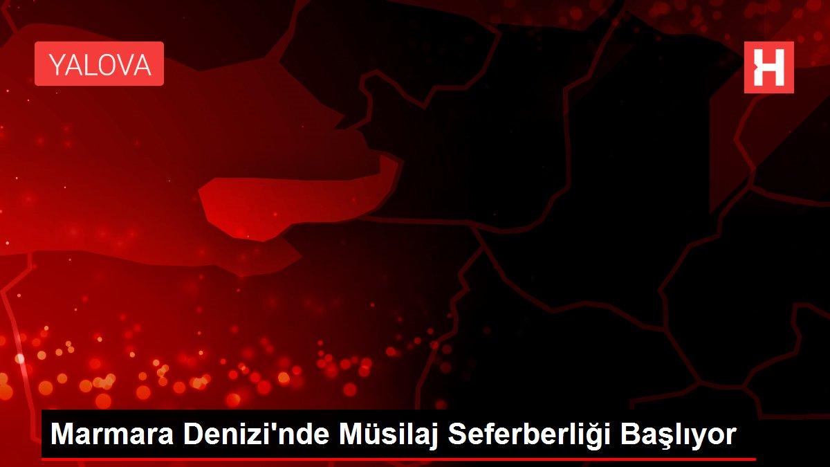 Marmara Denizi'nde Müsilaj Seferberliği Başlıyor