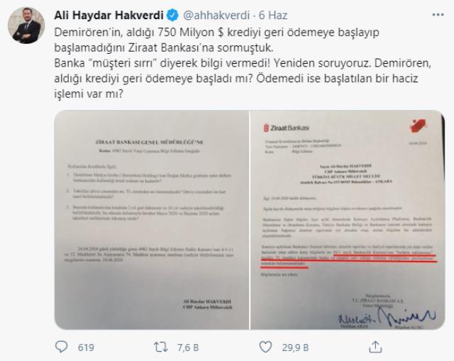 AK Partili Bülent Turan'dan Sedat Peker'in Demirören iddiasına yanıt: Her günün faizi ödenecektir
