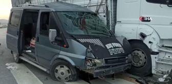 Melih Gökçek: Başkent'te trafik kazası: 2 yaralı