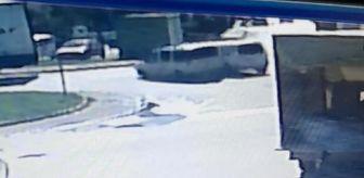 Recep Bayraktar: 3 aracın karıştığı zincirleme kaza, kamerada