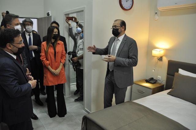 AFYONKARAHİSAR - AFSÜ Palyatif Bakım ve Rehabilitasyon Merkezi ile Konukevi'nin açılışı gerçekleştirildi