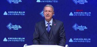 Tsk: Bakan Akar TSK, çok az sayıda ordunun elde edebileceği avantajlara ulaşmıştır -