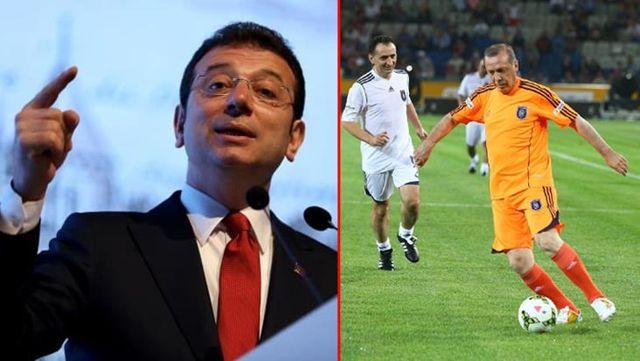 Ekrem İmamoğlu'ndan Cumhurbaşkanı Erdoğan'a dikkat çeken çağrı: İsterse bir halı sahada futbol maçı yapabiliriz
