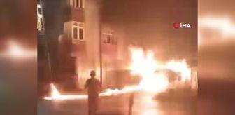 Küçükçekmece: Kız arkadaşı ayrılınca, ailenin arabasını yaktı