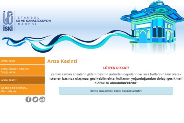 11 Haziran Cuma İstanbul'da su kesintisi yaşanacak ilçeler! İstanbul'da sular ne zaman gelecek? İstanbul su kesintisi listesi!