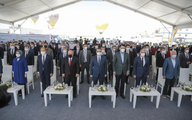 2 milyon kişinin ihtiyacını karşılayacak Türkiye'nin en büyük güneş enerji santralinin temeli atıldı