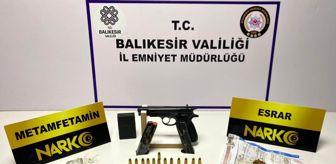 Narkotik Suçlarla Mücadele Şube Müdürlüğü: Balıkesir'de polisten 37 şahsa 'Huzur' operasyonu