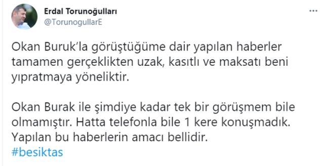 Beşiktaş Okan Buruk'la mı görüşüyor? Siyah-Beyazlı kulüp, bu soruya cevap verdi