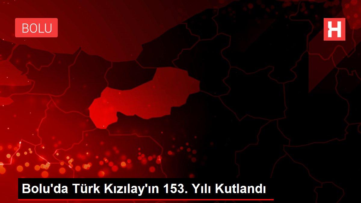 Bolu'da Türk Kızılay'ın 153. Yılı Kutlandı