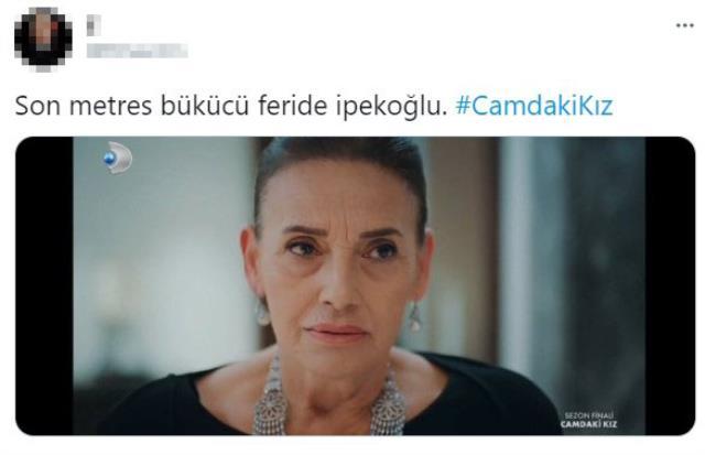 Camdaki Kız'da Feride'nin Cana'nın saçlarına yapıştığı anlar sosyal medyada gündem oldu