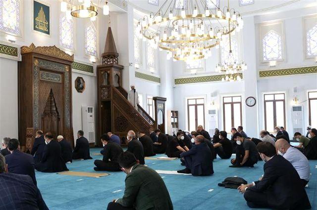 Diyanet İşleri Başkanı Erbaş Şehriban Hatun Camii'nde Hutbe İrad Etti