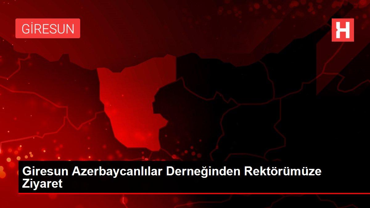 Giresun Azerbaycanlılar Derneğinden Rektörümüze Ziyaret