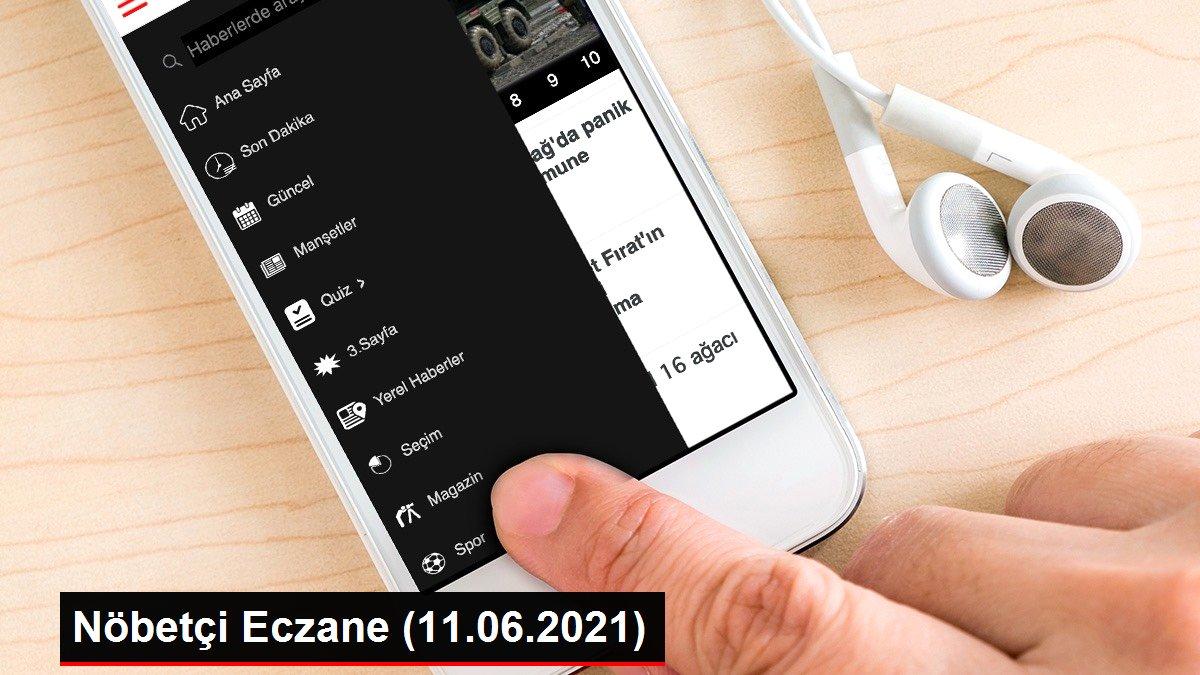 Nöbetçi Eczane (11.06.2021)