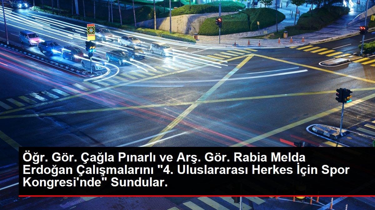 Öğr. Gör. Çağla Pınarlı ve Arş. Gör. Rabia Melda Erdoğan Çalışmalarını '4. Uluslararası Herkes İçin Spor Kongresi'nde' Sundular.